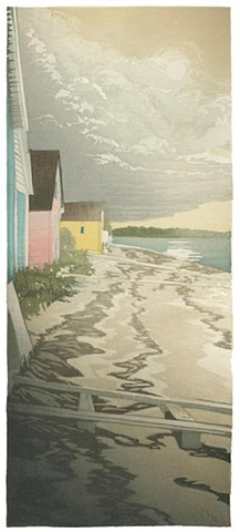 Matt Brown, Turtle Gallery, woodblock print, Deer Isle, Stonington, Blue Hill, Bar Harbor, Ellsworth, Art, Maine, Gallery