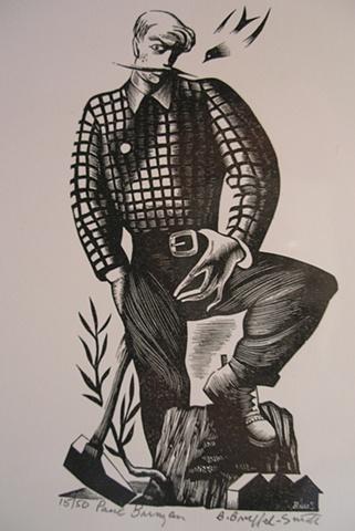 Bernard Brussel - Smtih, artist, prints, Turtle Gallery, Deer Isle, Maine, Ellsworth, Blue Hill, Bar Harbor, Stonington, Bangor