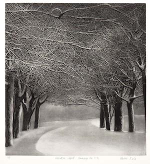 Vaino Kola print Winter Light Turtle Gallery Maine