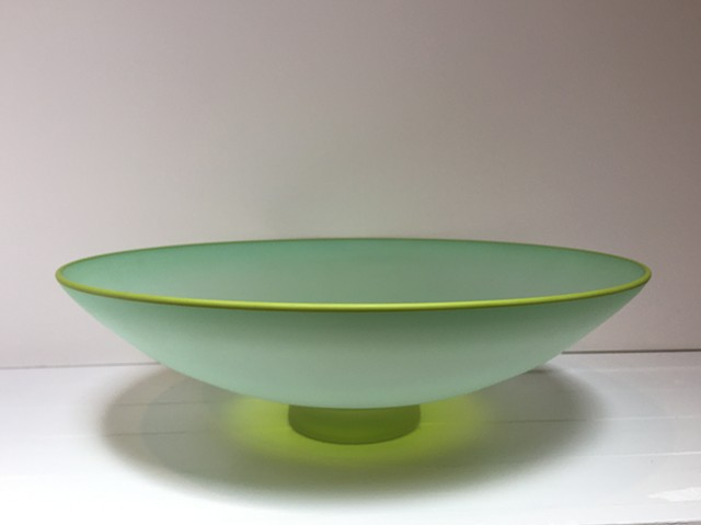 Two-color Frosted Bowl