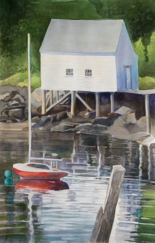 Michael Weymouth, Turtle Gallery, watercolor, artist, Maine, Stonington, Deer Isle, Blue Hill, Bar Harbor, Ellsworth