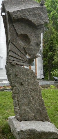 Andreas von Huene Articulation sculpture granite sculptor artist Turtle Gallery Deer Isle Maine