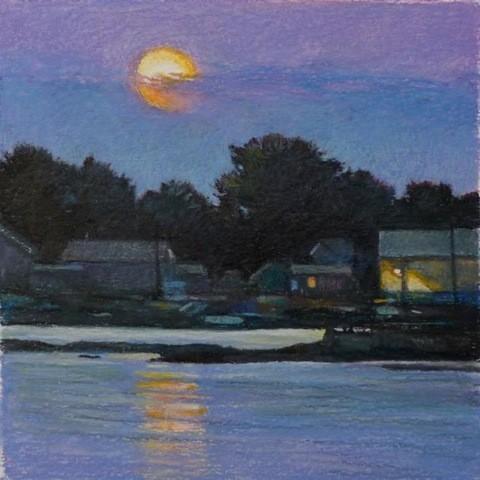 Sandy Wadlington, pastel, printmaker, Turtle Gallery, Deer Isle, Maine, Stonington, Blue Hill, Bar Harbor