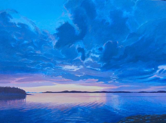 Susan Mangam, artist, landscape, oil painting, Turtle Gallery, Deer Isle, Maine, Stonington, Blue Hill, Ellsworth, Bar Harbor