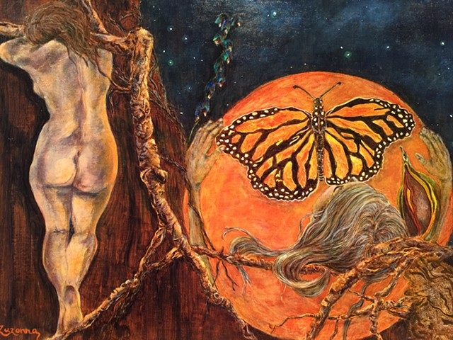 Orange Moon - The Last Butterly
