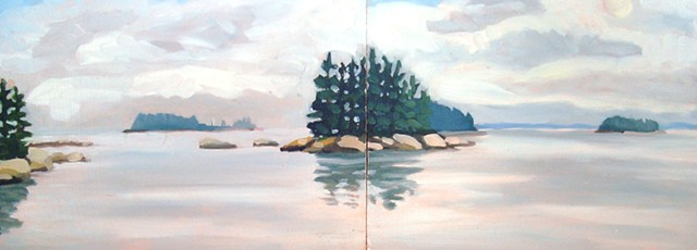 Alix Bacon, Turtle Gallery, Art, Paintings, Deer Isle, Maine, Stonington, Bar Harbor, Blue Hill