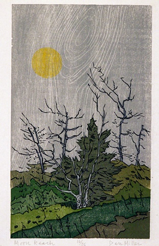 Dan Miller, artist, print maker, Turtle Gallery, Deer Isle, Maine, Stonington, Blue Hill, Ellsworth, Bar Harbor