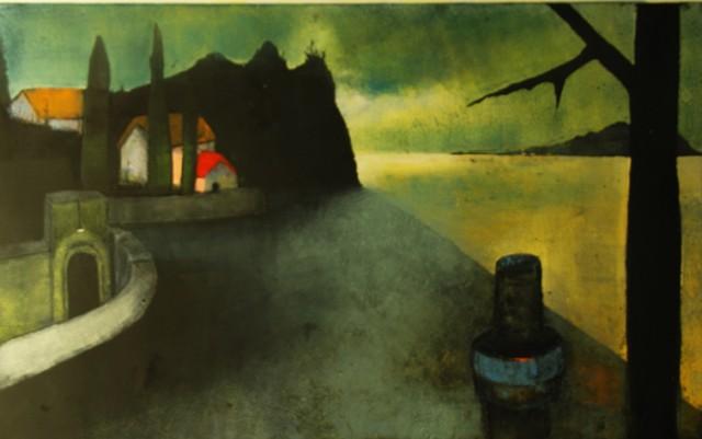 Treacy Ziegler, artist, printmaker, painter, Turtle Gallery, Deer Isle, Maine, Stonington, Blue Hill, Bar Harbor