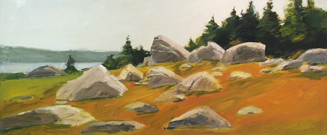 Michael Weymouth, Maine, Deer Isle, The Turtle Gallery, Oil painting