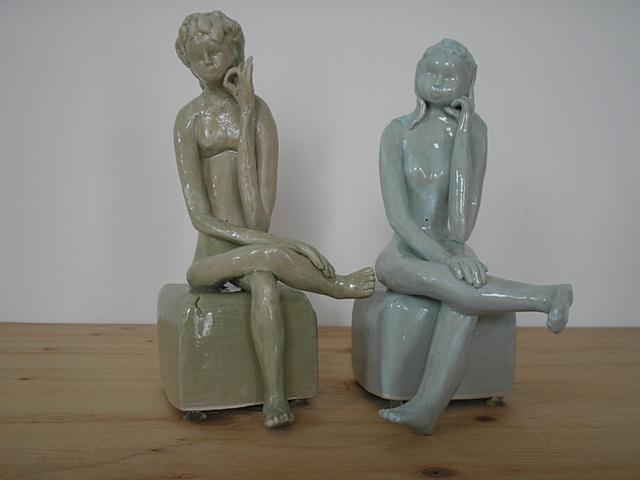 Nancy Nevergole, artist, ceramics, Turtle Gallery, Deer Isle, Maine, Stonington, Blue Hill, Ellsworth, Bar Harbor