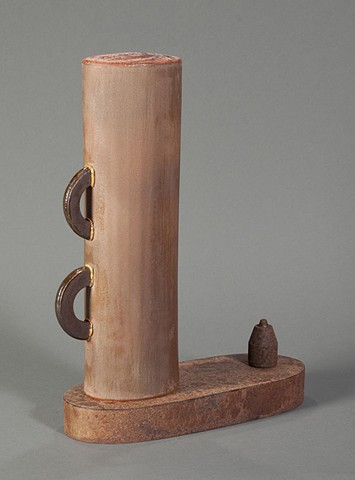 Lynn Duryea, artist, clay, Turtle Gallery, Deer Isle, Maine