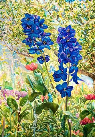 Marjorie Glick, The Turtle Gallery, Deer Isle, Maine, Watercolor, Maine Coast