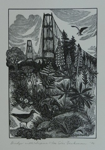Siri Beckman, artist, wood engraving, Turtle Gallery, Deer Isle, Maine, Stonington, Blue Hill, Bar Harbor, Ellsworth
