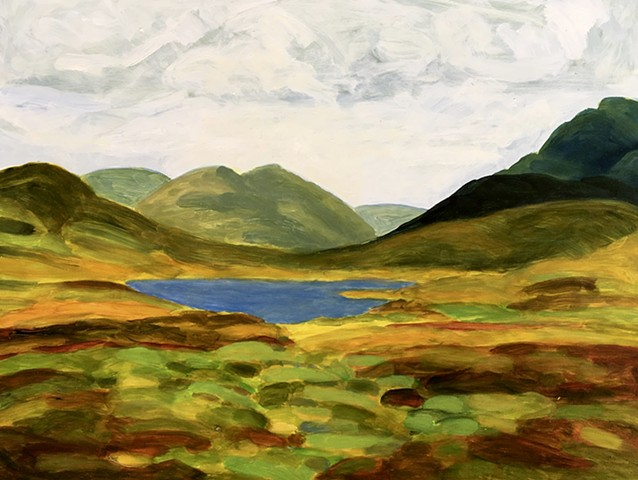 Alix Bacon, Turtle Gallery, Art, Paintings, Deer Isle, Maine, Stonington, Bar Harbor, Blue Hill