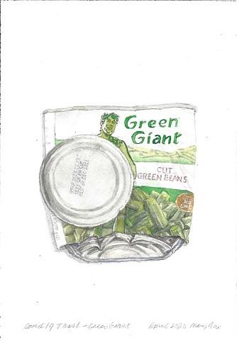 Covid 19 Trash - Green Giant 1