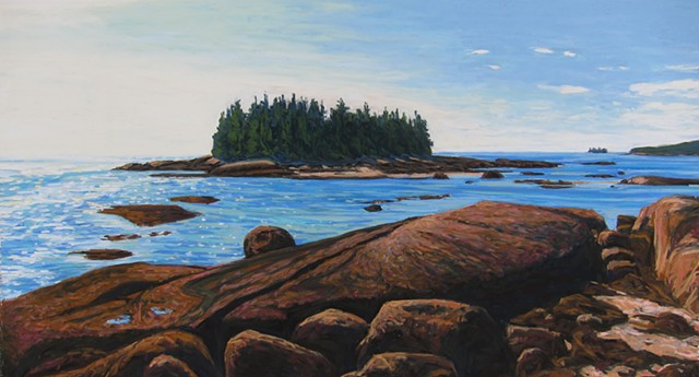 Galen Davis, Turtle Gallery, art, pastels, Stonington, Deer Isle, Maine, Blue Hill, Ellsworth, Bar Harbor