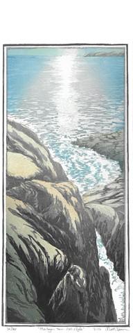 Matt Brown, Turtle Gallery, woodblock print, Deer Isle, Stonington, Blue Hill, Bar Harbor, Ellsworth, Art, Maine, Gallery