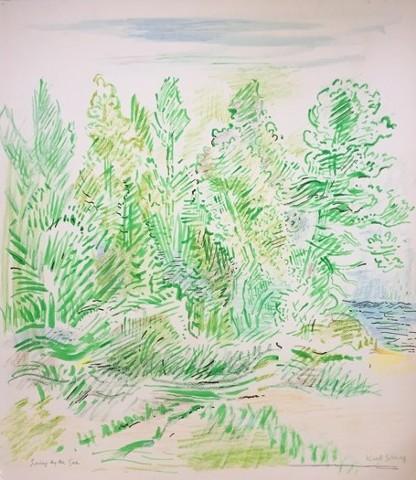 Karl Schrag, artist, painter, print maker, The Turtle Gallery, Deer Isle, Maine, Stonington, Blue Hill, Bar Harbor
