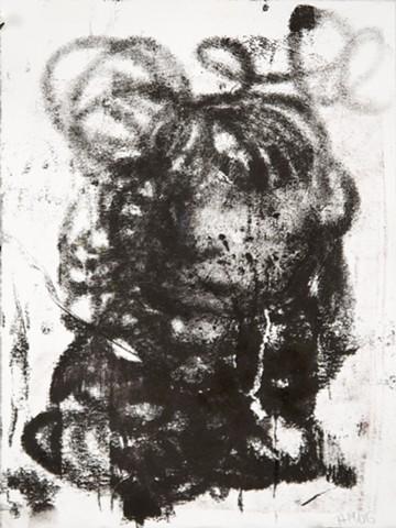 Arthur Hardigg, Monoprint, Maine Art, Turtle Gallery, Black and white print show