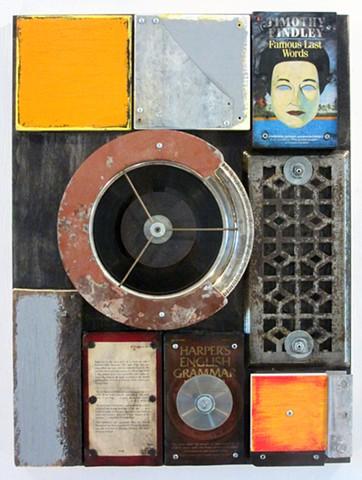 Ottawa art book art assemblage Schwitters Rauschenberg