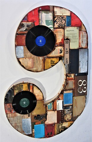 book art shaped art Gagne Ottaw arte povera Alpha Gallery