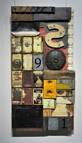 Gagne book art shaped art Alpha+Gallery Schwitters Rauschenberg Johns