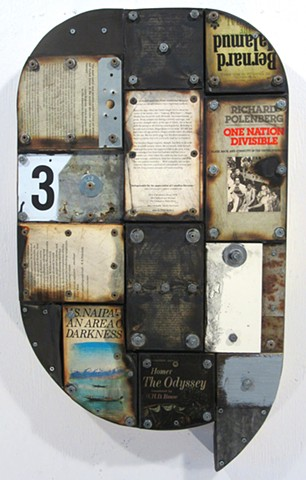 assemblage marc gagne ottawa art collage encaustic book art