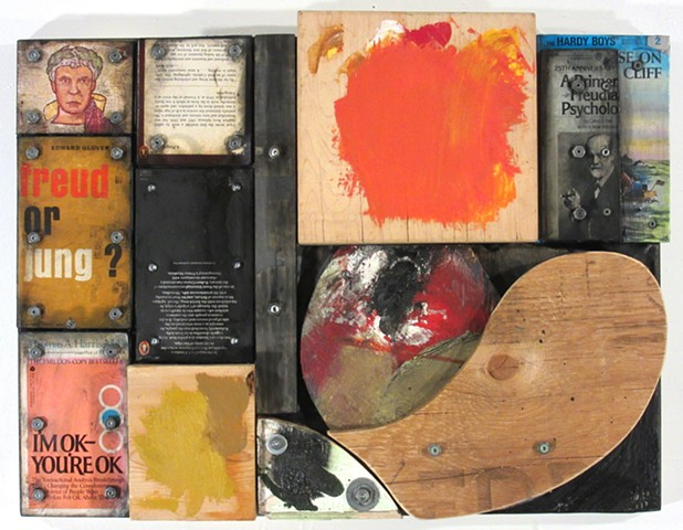 book art Marc Gagne assemblage mixed media construction