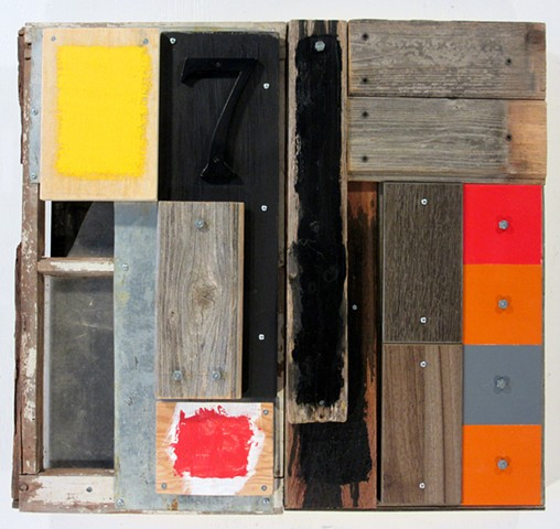 Marc Gagne book art mixed media assemblage Tapies Rauschenberg
