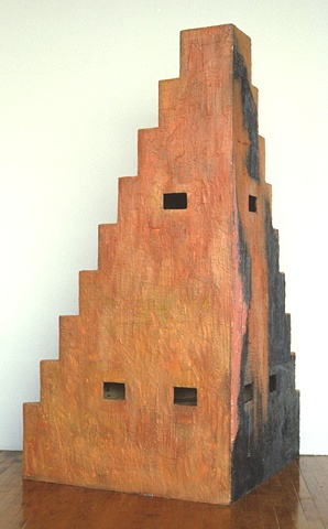 encaustic on wood