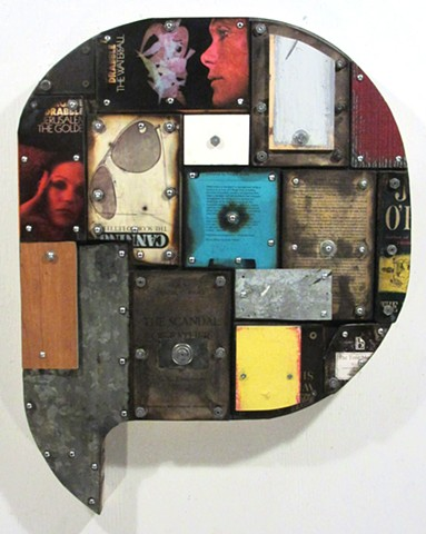 mixed+media assemblage art Gagne Ottawa
