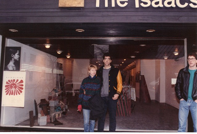 Outside Isaacs Gallery, 1986
