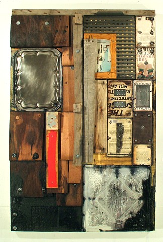 assemblage mixed media Ottawa artist
