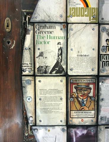 book art door art