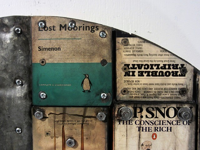 encaustic art Marc Gagne Ottawa assemblage book art