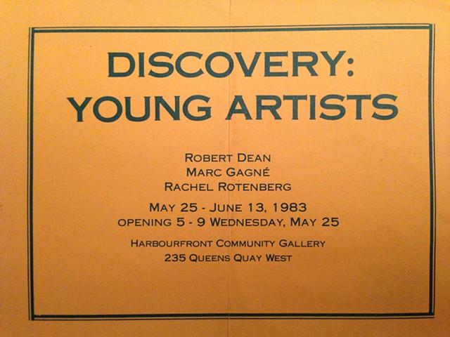gallery invite, 1983