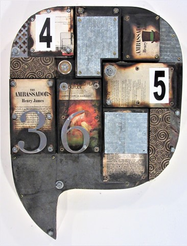 abstract book art shaped art Schwitters Rauschenberg Johns