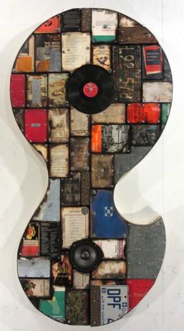 abstract book art (shaped canvas) Schwitters Rauschenberg Johns