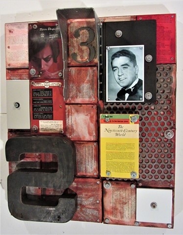 Gagne book art shaped art Alpha+Gallery Schwitters Rauschenberg Johns