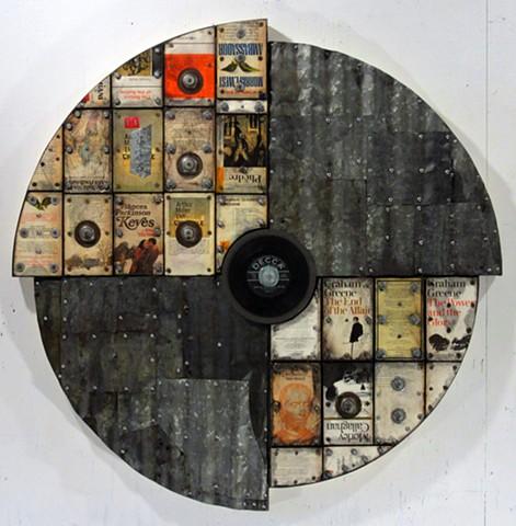 encaustic assemblage art Ottawa Marc Gagne