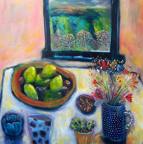 Still life painting from the New Impressionist series 2013