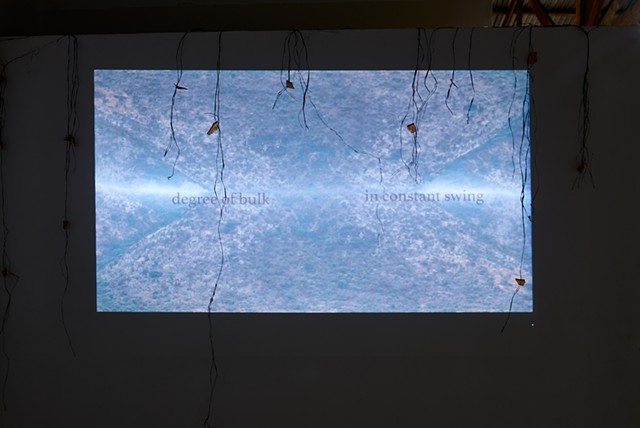beneath Video Installation