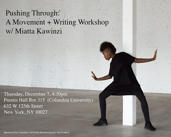Workshop at Columbia University