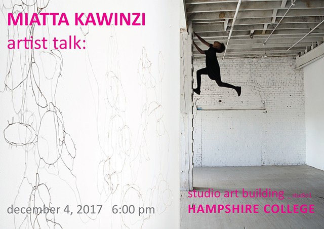 Artist Talk at Hampshire College