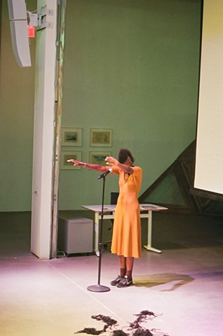 Miatta Kawinzi, performance