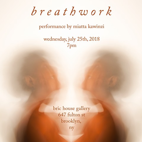 Breathwork Performance at BRIC