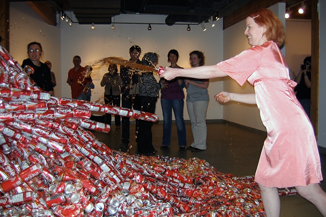 Coke dump performance demonstration