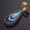 Royal Peacock Eye Pendant