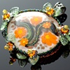 Tropical Glass Garden Pendant