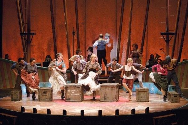 """""""Barnum"""" at Asolo Rep Theatre"""